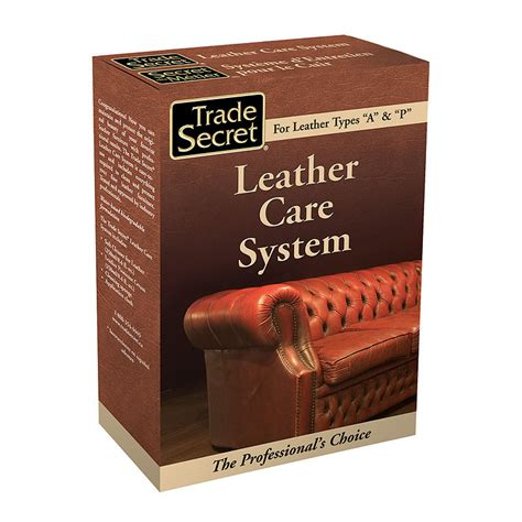 Leather Care Furniture by Trade Secret Leather Care System