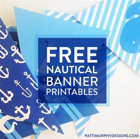 nautical banner on pinterest nautical birthday