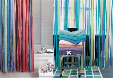 ribbon shower curtain steal of the day garnet hill ribbon shower curtain