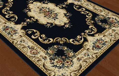 Black Traditional Oriental Border Floral Area Rug Roses Black Floral Area Rug