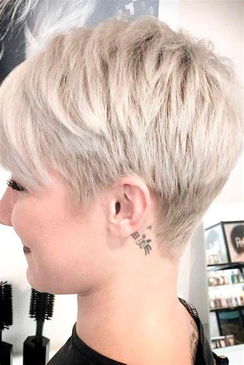cut front of face hair cut around the ears 30 blonde short hairstyles for round faces blonde short
