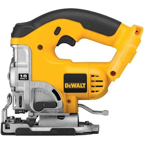 dewalt 18v cordless jig saw tool only the home depot