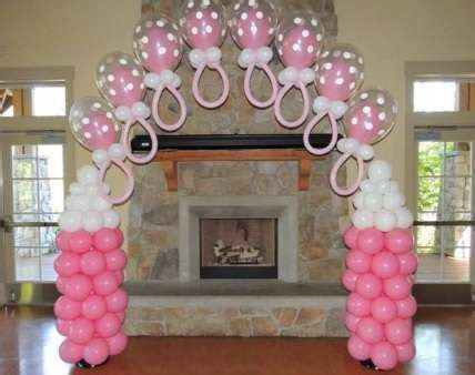 como decorar baby shower con globos decoraci 243 n para baby shower articulos