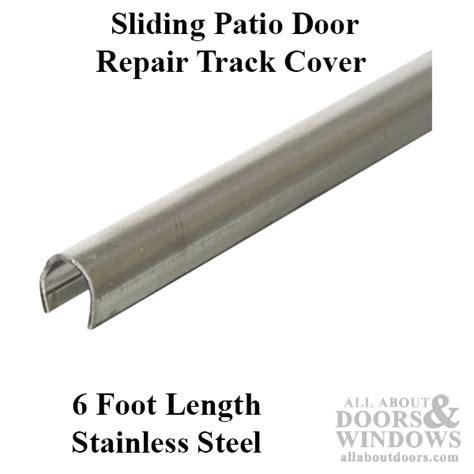 Exterior Sliding Door Track Tracks For Sliding Doors Patio Door Repair Track
