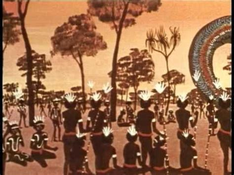 themes in dreamtime stories reading of the rainbow serpent outback adventure
