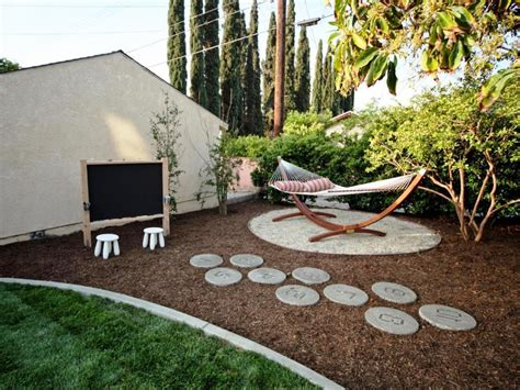 Ideas For Small Backyard Fascinating Cheap Backyard Ideas Twuzzer