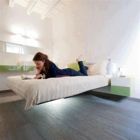 Floating Bed Frame Fancy Deco Com Floating Bed Frame