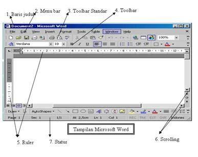 screen layout adalah ririez cah raddin ms word 2003