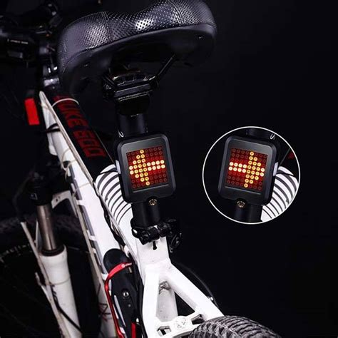 led brake and turn signal light the led bike light with intelligent brake and turn