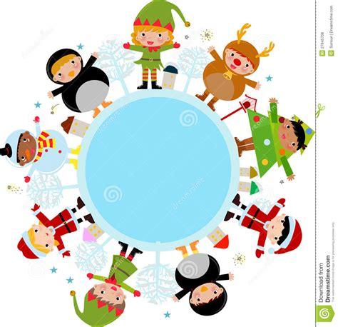 imagenes de navidad para niños ni 241 os de la navidad ilustraci 243 n del vector imagen de