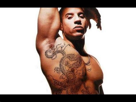 does vin diesel have tattoos fast and furious 7 look at the top 8 actors