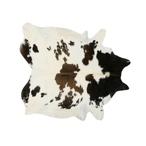 Large White Cowhide Rug Southwest Rugs Large Black Brown And White Special
