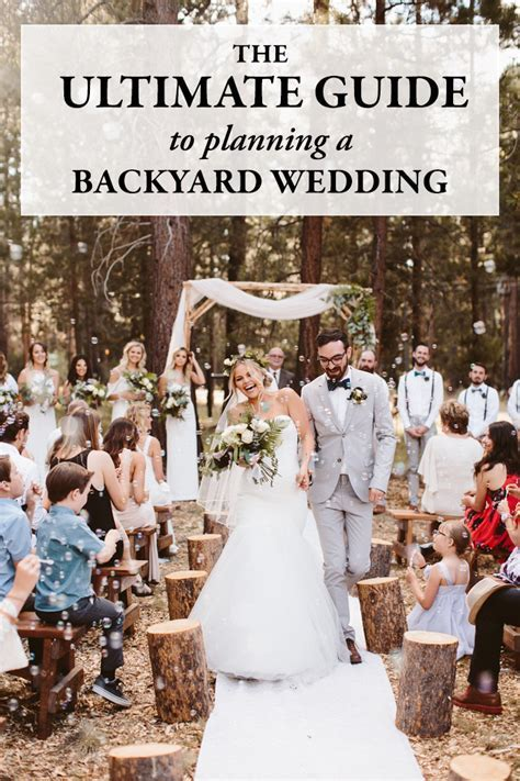 The Ultimate Guide to Planning a Backyard Wedding