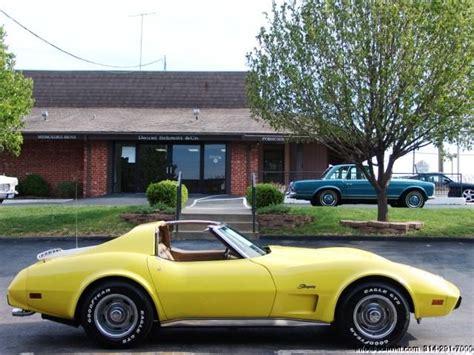 1975 Chevrolet Corvette Stingray L48 Coupe C3 T Top 5 7l Must See Call Now Classic Chevrolet 1975 Chevrolet Corvette Stingray L48 350 Engine Daniel Company