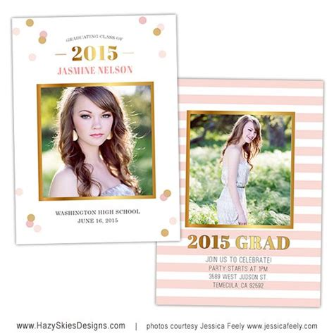 17 Best Images About Senior Marketing Templates Graduation Announcement Templates For Digital Graduation Announcements Templates
