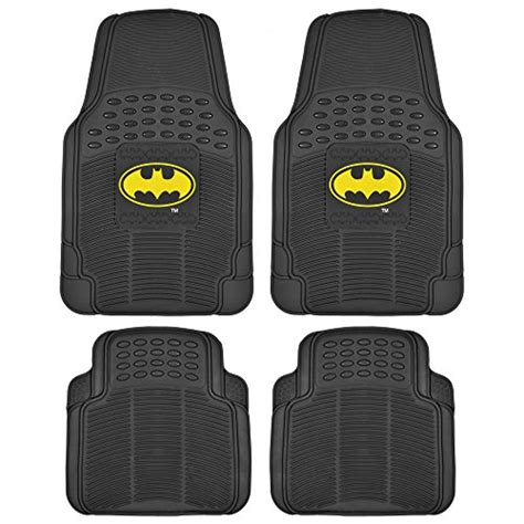 Batman Car Floor Mats by Batman Rubber Car Floor Mats 4 Pc Front Heavy Duty All