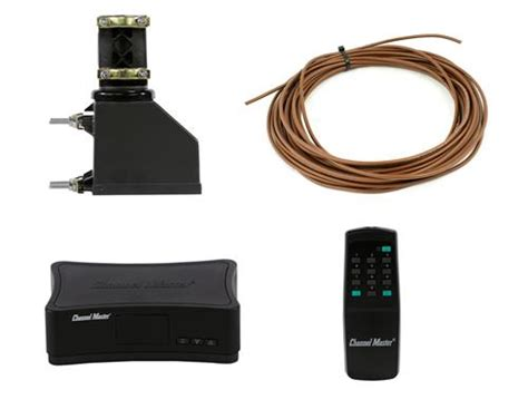 channel master all in one tv antenna rotator system 50 foot wire cm9521hd 50 from solid signal