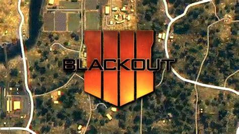 la map du mode battle royale blackout de call  duty
