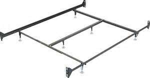 How To Attach Footboard To Bed Frame metal glide bedframe w headboard footboard attachment the brick