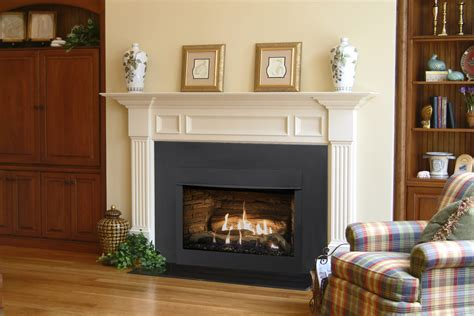 traditional gas fireplace insert emberwest fireplace