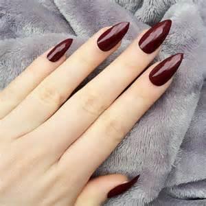 Maroon Bathroom Decor Doobys Stiletto Nails Deep Red Gloss From Doobysuk On Etsy