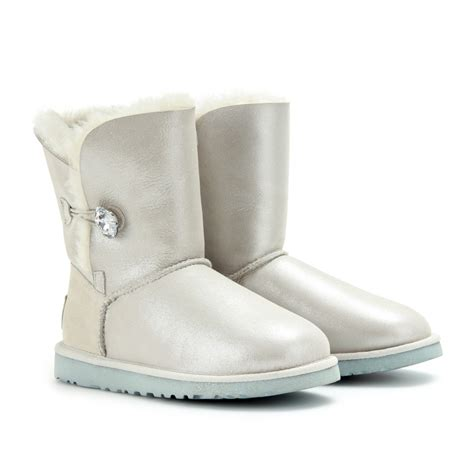 i do slippers lyst ugg bailey bling i do boots in metallic