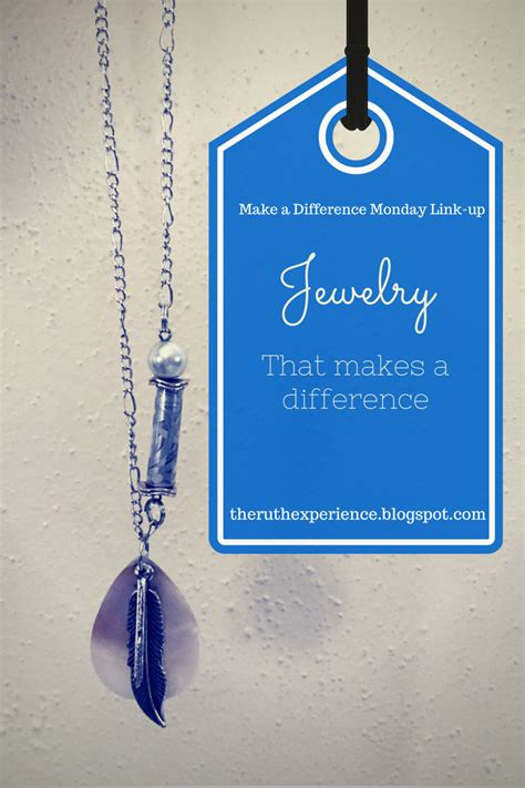 The Ruth Experience Jewelry That Makes A Difference And