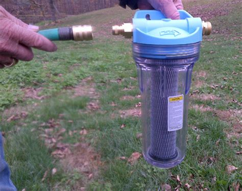Garden Hose End Water Filter Water Filter Kit