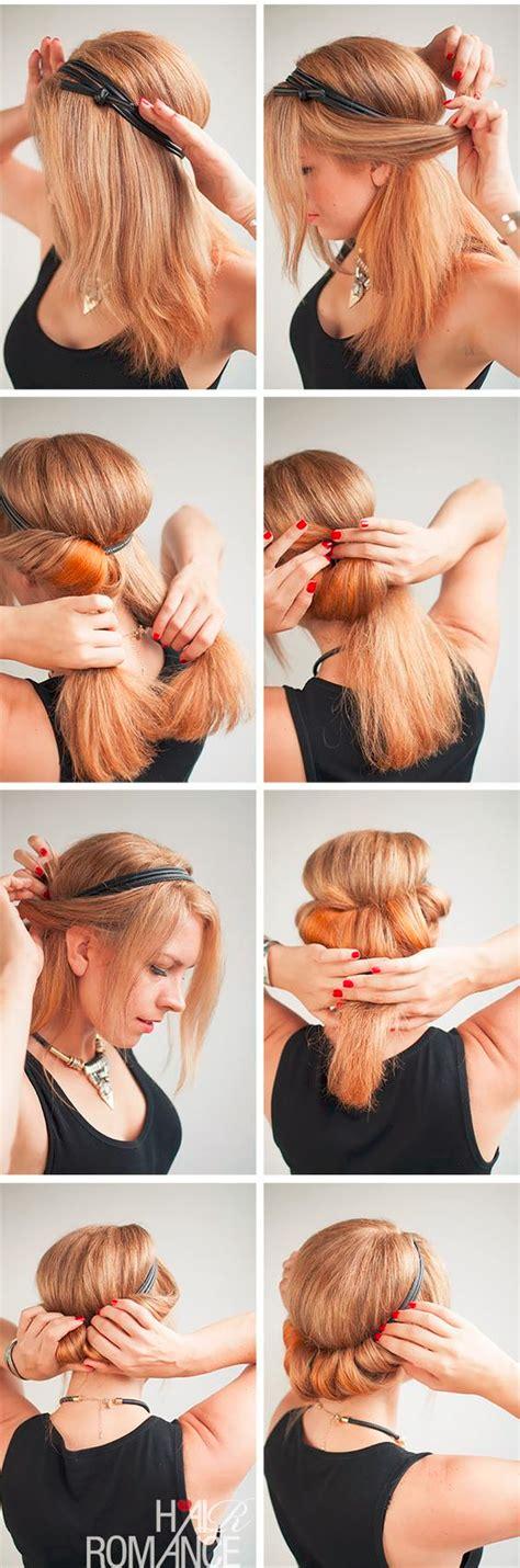 comment porter un bandeau dans les cheveux comment mettre et porter un bandeau cheveux