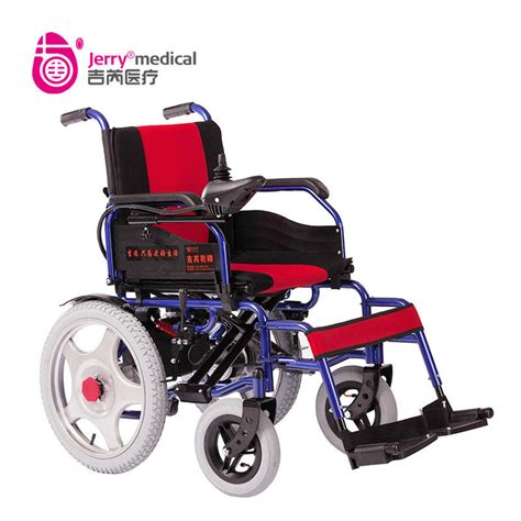 Comfortable Wheelchair by Comfortable Battery Powered Foldable Electric Wheelchair