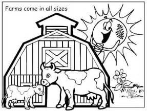 color farm farm coloring pages for