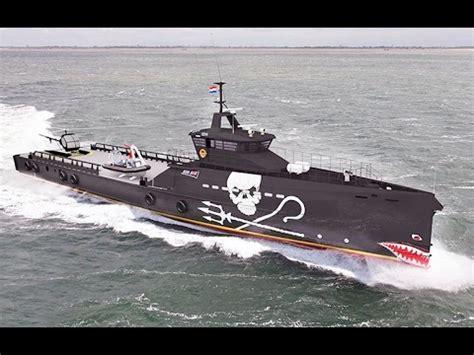 boat crash pirates war against fish poachers ship boarding boat battle crash