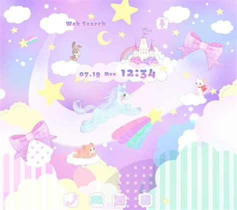 theme google unicorn cute theme unicorn fantasy android apps on google play