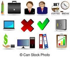 icona ufficio riunione affari icona ufficio simbolo illustrazione