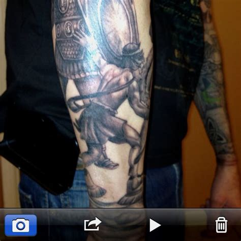 david and goliath tattoo david and goliath i want that ink david