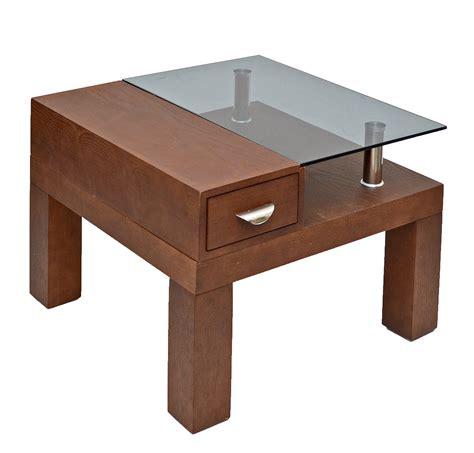 Schublade 90 X 60 by Landhaus Glastisch Beistelltisch Holz Tisch 60 X