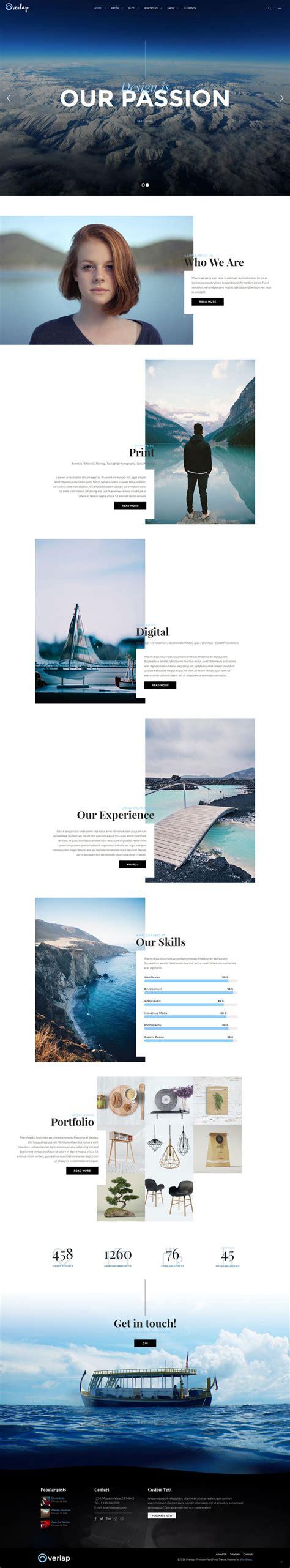 wordpress themes design inspiration creative but newest website designs for inspiration
