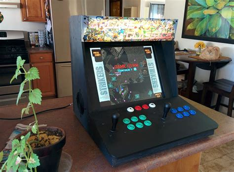bar top arcade cabinet make a bartop video arcade from an old pc make
