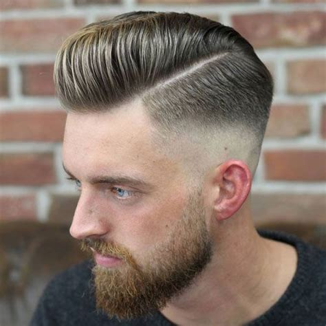 hard part in hair 25 best ideas about barber haircuts on pinterest mens