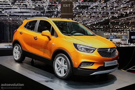 opel mokka 2016 opel mokka x shows off in geneva autoevolution