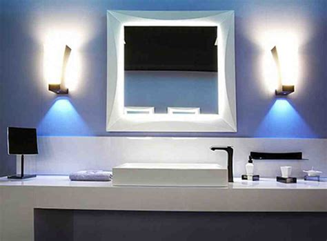 Modern Mirrors For Bathrooms Modern Bathroom Mirrors With Lights Decor Ideasdecor Ideas