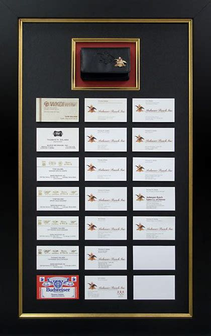 Business Card Display Frame