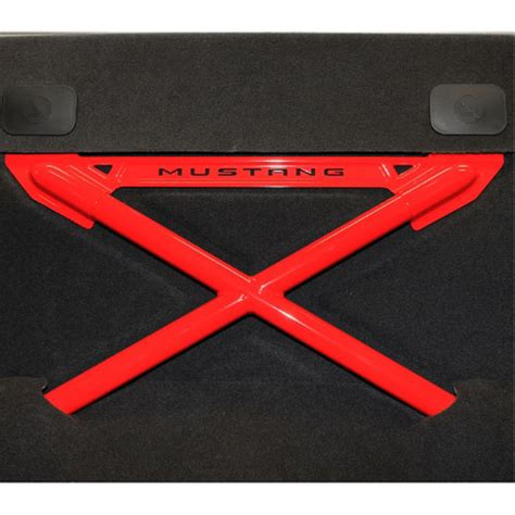 frpp 2011 2013 mustang rear seat delete kit with x brace
