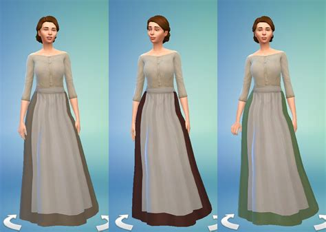 TS4: Medieval Peasant's Dress   History Lover's Sims Blog