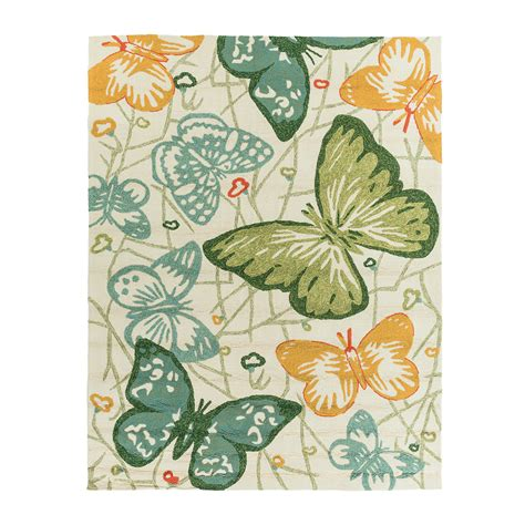 Butterfly Indoor Outdoor Rug Gump S Butterfly Rug