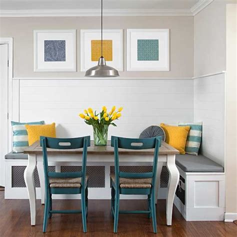 Corner Banquette by Creating The Breakfast Nook Fabulous