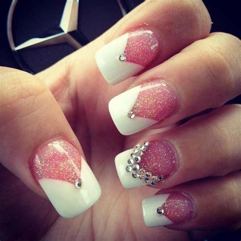 nail design tips home white tip nail designs stencils pccala