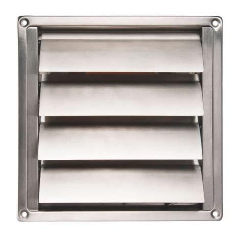 grille d a駻ation cuisine grille inox en applique pour hotte 216 150 renson