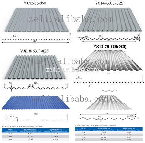 sheet types corrugated stainless steel roofing sheet gi metal roof