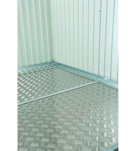 prodotti giardino biohort pavimentazione in alluminio per casetta highline